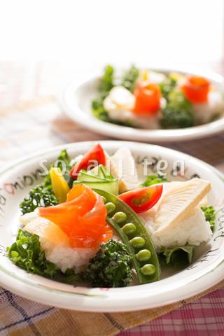 カナッペ風 サラダちらし寿司