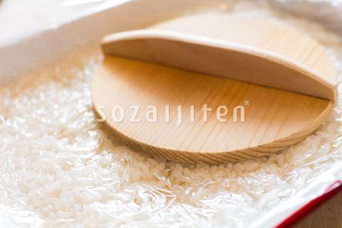 酢飯の型とり