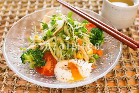 シャキシャキ野菜の冷やし中華