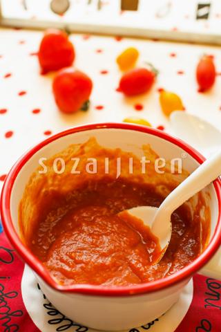 自家製トマトケチャップ