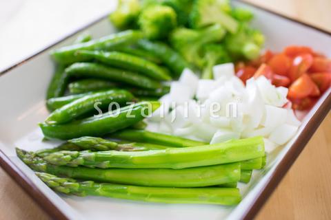 コブサラダ食材