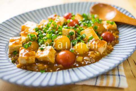 ピリ辛トマト麻婆豆腐