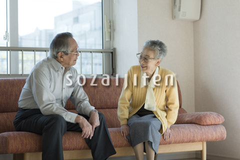 老夫婦の会話