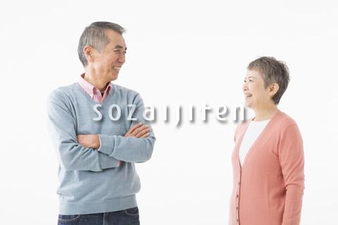 シニアのカップルのイメージ