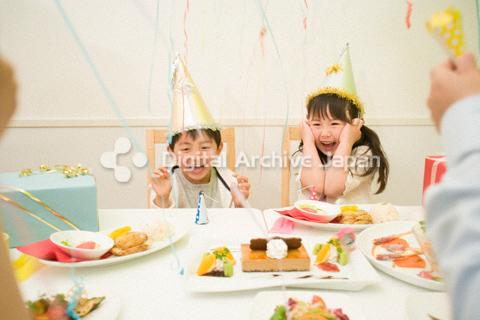 子供たちの誕生日
