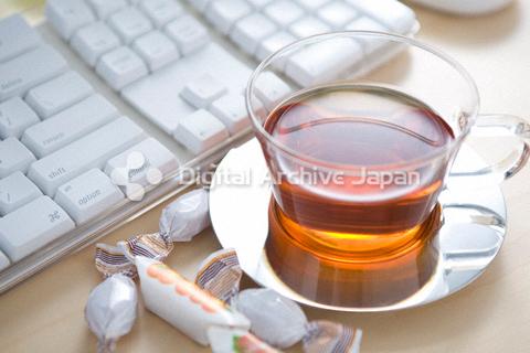 紅茶とキーボード