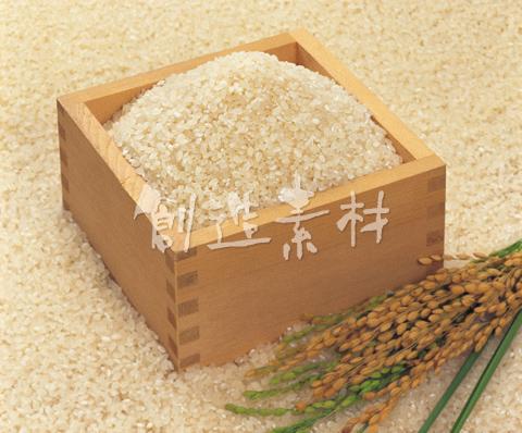米とマスと稲穂