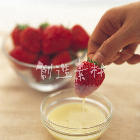 イチゴと練乳