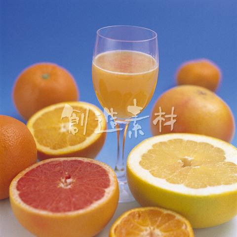 オレンジとグレープフルーツ