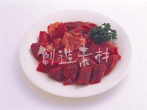 牛肉のモモ肉角切り