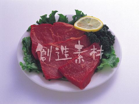 牛肉のモモステーキ