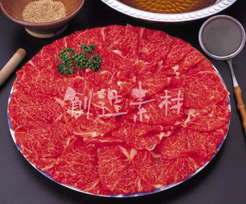 牛肉のモモ肉しゃぶしゃぶ用