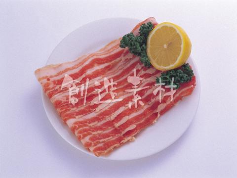 豚肉のバラスライス