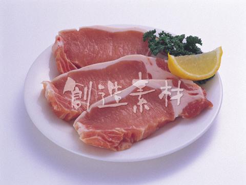 カツ用の豚肉ロース