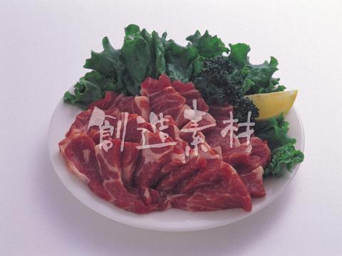 焼肉用の豚肉肩ロース