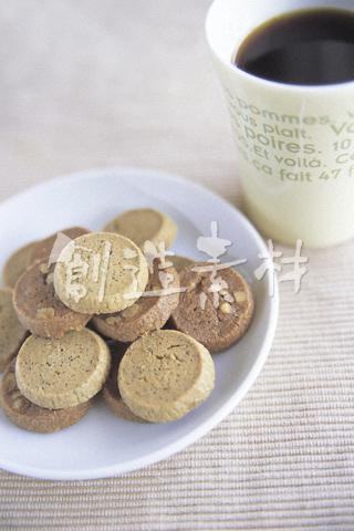 コーヒーとチョコレートクッキー