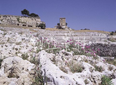 シラクサのギリシャ劇場