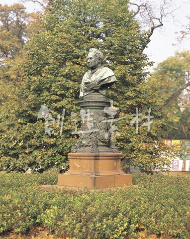 ウィーン市立公園の銅像