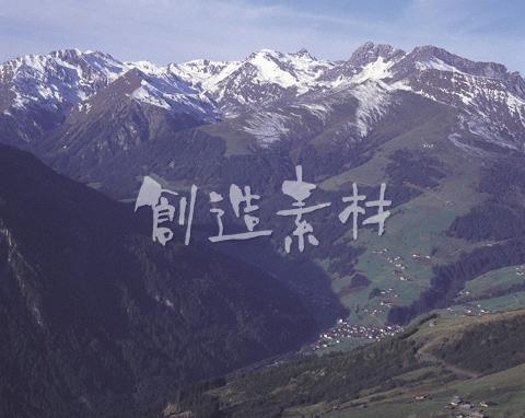 オーストリアの山岳