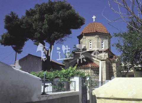 エギナ島の教会