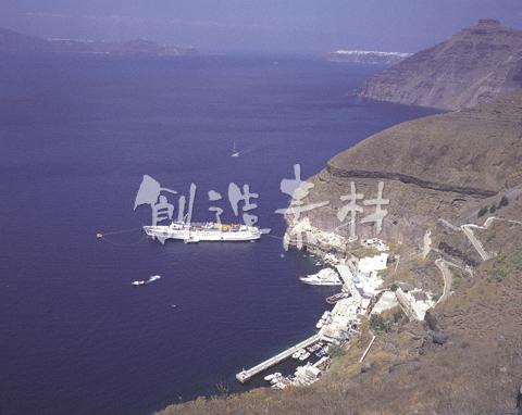 フィロン港とエーゲ海