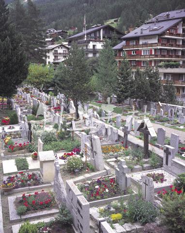 ツェルマットの墓地