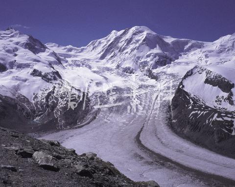 リスカムとゴルナー氷河