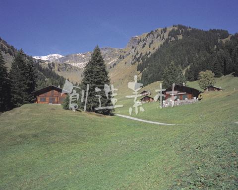 グリンデルワルトの山小屋
