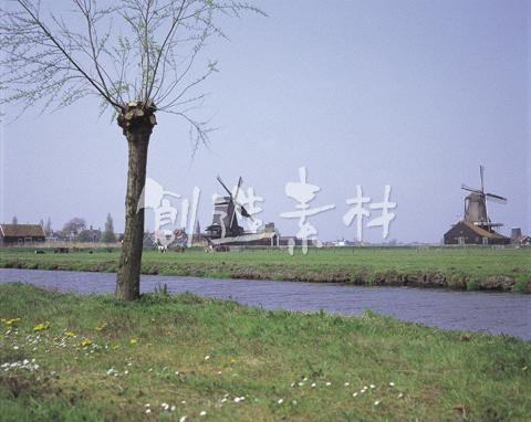 ザーンススカンスの風車