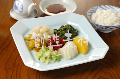 漬物7種とご飯