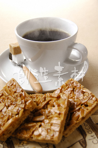 コーヒーとアーモンドの焼き菓子