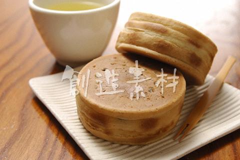今川焼きと日本茶