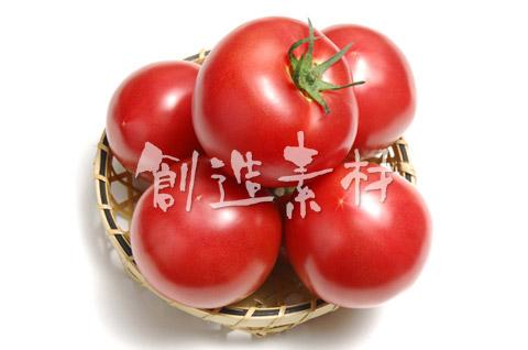 5個のトマト