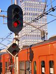 電車と信号機