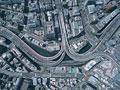 町並と首都高速道路