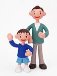 クラフト(父親と息子)