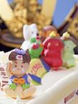 桃太郎のケーキ