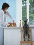 キッチンシーン