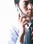 携帯電話シーン