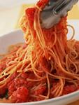 ナスとトマトのスパゲティ
