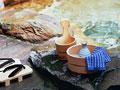 タイトル:露天風呂