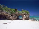 海岸の奇岩