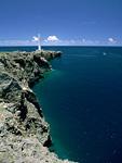 残波岬と灯台
