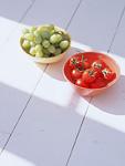 ブドウとミニトマト