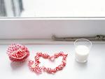 窓辺のキャンディーとミルク