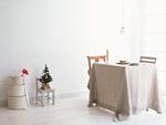 クリスマスの部屋とテーブル