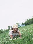 草原の女性