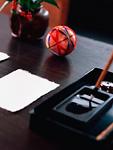 文机と硯箱