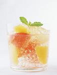 オレンジとグレープフルーツのジュレ