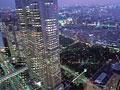 都庁と夜景